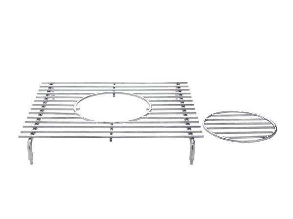 Edelstahl Geschirreinsatz für Seitenkocher