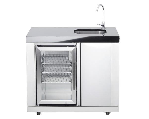Modul 11 | Waschbecken/Kühlschrankkombi (Becken rechts)