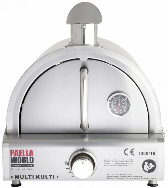 Pizzaofen-Edelstahlhaube für MULTI-KULTI ®