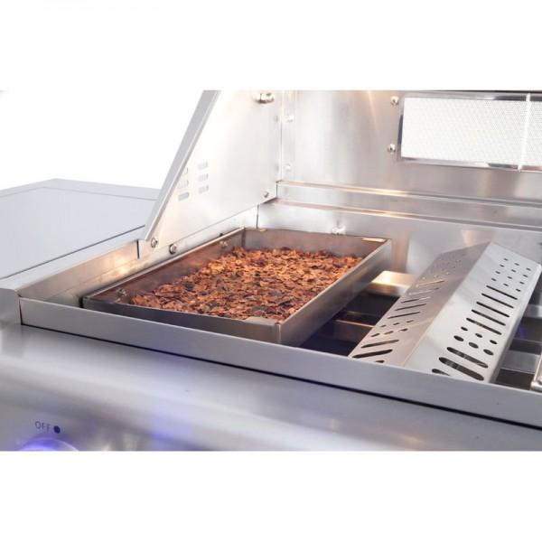 Wood Chip Räucher Box für Allgrill CHEF, EXTREM und MODUL aus Edelstahl