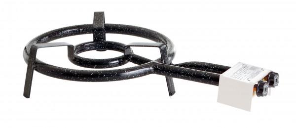 2-Ring-Gasbrenner Ø 35 cm - 9,0 kW, 30 mbar